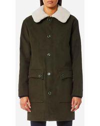 A.P.C. - Women's Boreale Coat - Lyst