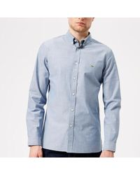 Lacoste | Long Sleeved Casual Shirt | Lyst