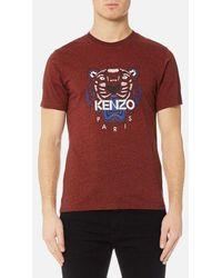 KENZO | Men's Tiger Icon Tshirt | Lyst