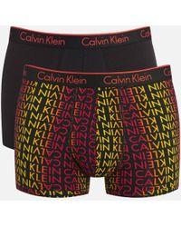CALVIN KLEIN 205W39NYC - Men's Ck One Cotton 2 Pack Trunks - Lyst
