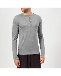 Falke Ergonomic Sport System Long Sleeve Henley Top
