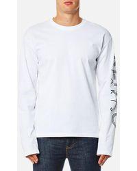KENZO | Men's Long Sleeve Logo Tshirt | Lyst