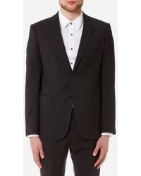 Emporio Armani - Men's 2 Button Single Breasted Suit - Lyst