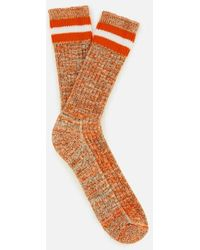 Universal Works - Men's Everyday Stripe Socks - Lyst