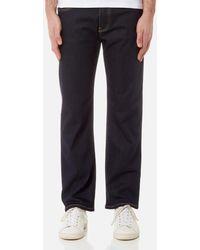 Emporio Armani - Men's J21 5 Pocket Regular Fit Jeans - Lyst