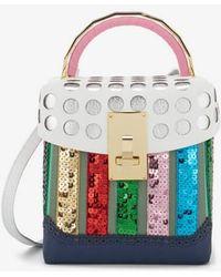 the VOLON - Women's Box Kr Bag - Lyst