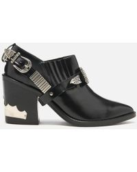 Toga Pulla - Women's Leather Heeled Shoe Boots - Lyst