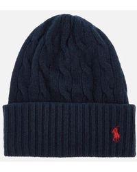 Polo Ralph Lauren - Women's Wool Hat - Lyst