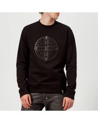 Versace - Circle Logo Sweatshirt - Lyst