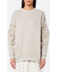 See By Chloé - Women's Crafty Fleece Top - Lyst