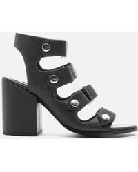 Senso - Women's Stella Matt Leather Strappy Heeled Sandals - Lyst