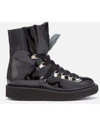 KENZO - Women's Alaska Patent Leather Boots - Lyst