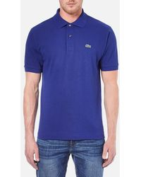 Lacoste   Men's Short Sleeve Polo Shirt   Lyst