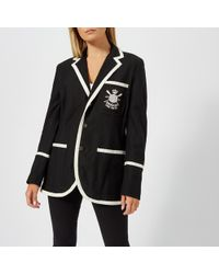 9ccbe612f4d5c1 Polo Ralph Lauren - Oversized Blazer - Lyst