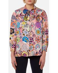 PS by Paul Smith | Women's Enso Floral Blouse | Lyst