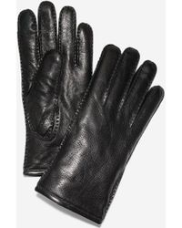Cole Haan - Snap Button Gloves - Lyst
