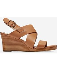 Cole Haan - Penelope Wedge Sandal (70mm) - Lyst
