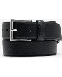Cole Haan - 32mm Pebble Leather Belt - Lyst