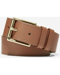 Cole Haan - 35mm Flat Strap Belt With Stitched Edge - Lyst