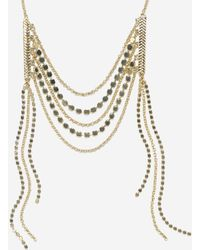 Cole Haan - Metropolitan Club Frontal Necklace - Lyst
