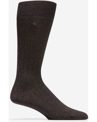 Cole Haan - 10x1 Ribbed Crew Socks - Lyst