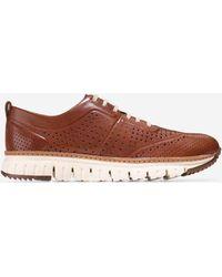 Cole Haan | Men's Zerøgrand Perforated Sneaker | Lyst
