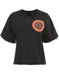 Mr & Mrs Italy - Beaded Patch T-shirt - Lyst