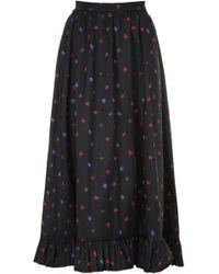 Philosophy - Long Floral Skirt - Lyst