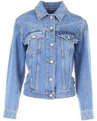 Alexander McQueen - Vintage Denim Jacket - Lyst