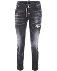 DSquared² - Cropped Jeans - Lyst