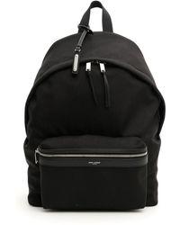 Saint Laurent - City Backpack - Lyst