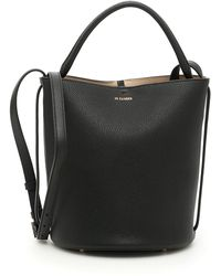 Jil Sander - Leather Bucket Bag - Lyst