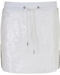 Alberta Ferretti - Sequins Skirt - Lyst