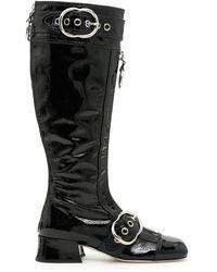 Miu Miu - Naplak Boots - Lyst
