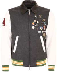 DSquared² - Jacket With Pins - Lyst