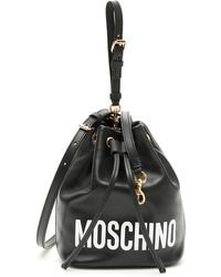 Moschino - Logo Bucket Bag - Lyst
