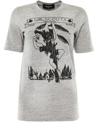 DSquared² - Girl Scouts T-shirt - Lyst