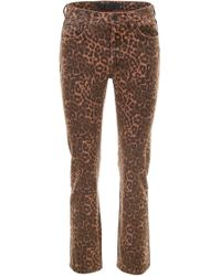 Alexander Wang - Leopard Printed Jeans - Lyst
