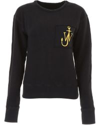 JW Anderson - Sweatshirt With Logo Embroidery - Lyst