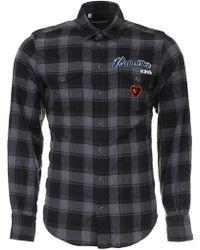 Dolce & Gabbana - Paradise Check Shirt - Lyst
