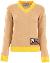 Prada - Cashmere Pullover - Lyst