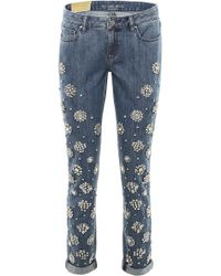 MICHAEL Michael Kors - Bejeweled Jeans - Lyst