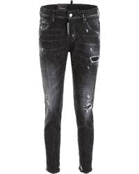 DSquared² Skinny Dan Jeans - Black