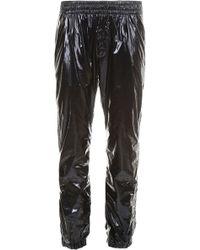 Versace - Shiny joggers - Lyst