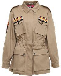 Miu Miu - Embellished Military Jacket - Lyst