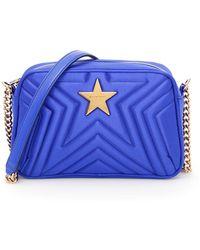 Stella McCartney - Star Satin Cross-body Bag - Lyst