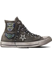 Converse | Chuck Taylor All Star Army Patchwork | Lyst