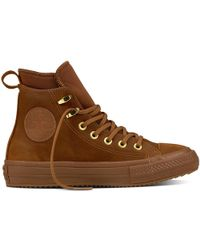 Converse - Chuck Taylor All Star Waterproof Nubuck Boot - Lyst