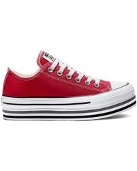 5476fa25d181 Converse Chuck Taylor All Star 2v in White - Lyst