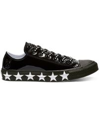 Converse - X Miley Cyrus Chuck Taylor All Star Low-top Faux Patent - Lyst
